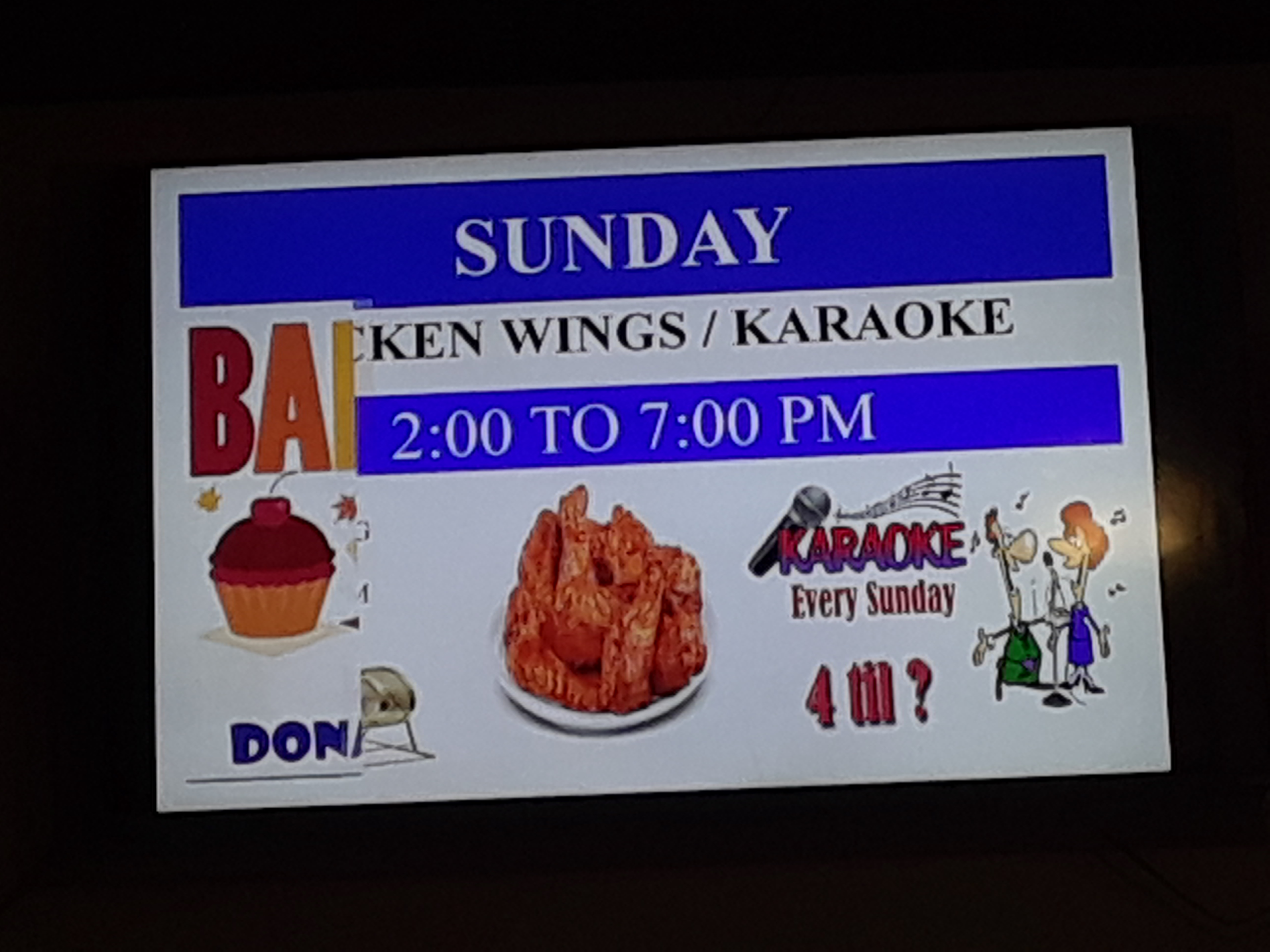 Sunday Wings 2 - 7